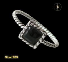 デザインリング(40)オニキス07号・09号・11号・13号・15号・17号/(メイン)天然石・シンプルな指輪・送料無料