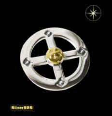 【パーツ】メディスンホイール(6)SV+B/(メイン)・ネイティブ・パーツ・