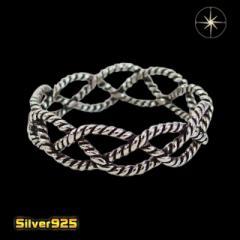 ロープの指輪(2)07号08号09号10号11号12号13号14号15号16号17号18号19号20号21号/【メイン】指輪・リング送料無料