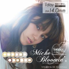 ミッシュブルーミン ワンデーカラコン 1箱30枚  度なし/度あり クォーターシリーズ イノセントシリーズ Miche Bloomin