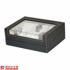 時計ケース 6本入BOX 合皮黒 IG-ZERO62-1
