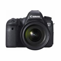 【送料無料】CANON EOS 6D EF24-70L IS USM レンズキット [デジタル一眼レフカメラ (2020万画素)]
