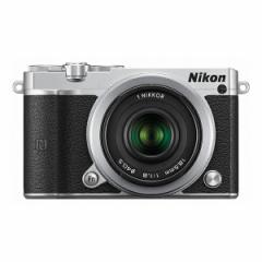 Nikon 1 J5 ダブルレンズキット シルバー [デジタル一眼レフカメラ(2081万画素)]