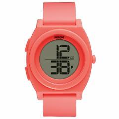 NIXON A4172054 ブライトコーラル THE TIME TELLER DIGI(タイムテラー デジ) [クォーツ腕時計(ユニセックス)]