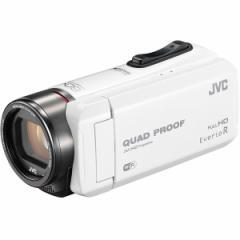 JVC GZ-RX600-W ホワイト Everio R [ハイビジョンメモリービデオカメラ (64GB)]【あす着】