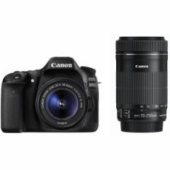 CANON EOS 80D ダブルズームキット EOS [デジタル一眼カメラ(約2420万画素)]
