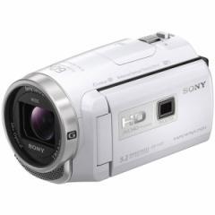 SONY HDR-PJ675-W ホワイト Handycam(ハンディカム) [デジタルHDビデオカメラレコーダー]