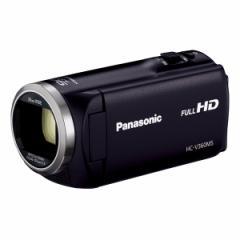PANASONIC HC-V360MS-K ブラック [デジタルハイビジョンカメラ(内蔵メモリー16GB)]【あす着】