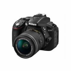 Nikon D5300 AF-P 18-55 VR キット ブラック [デジタル一眼レフカメラ(2416万画素)]