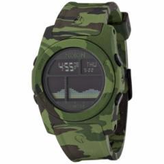 NIXON A3851695 リズム グリーンカモ [腕時計]