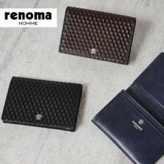 レノマ renoma 名刺入れ グレ 525603【メンズ】【...