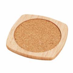 木製コースター(四角)H-3666