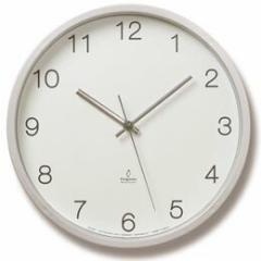 Basic clock (電波掛け時計) PC06-25W WH
