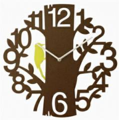 Picus(ピークス) 掛け時計 CL-5743 ブラウン【送料無料】 振り子付ステップムーブメント