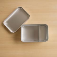 アルミ弁当箱 角型深型 Lサイズ アルミ お弁当箱【日本製】