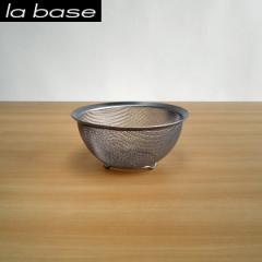 ラバーゼ ステンレス丸型ざる 小 15cm有元葉子プロデュース 日本製丸型ザル 小