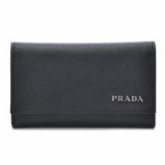 プラダ PRADA 2017年春夏新作 型押しカーフスキン メンズ 6連キーケース 2PG222 C5S G52