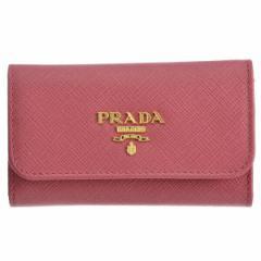 プラダ PRADA 型押しカーフスキン 6連キーケース 1PG222 QWA 505