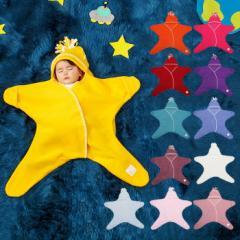 【ベビー】4-10M【Tuppence&Crumble】スターラップ星型フリースアフガン【あったか 防寒 ギフト 赤ちゃん フリース】