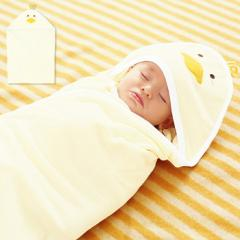【ベビー】【日本製】ひよこアフガン【赤ちゃん/おくるみ/アフガン】
