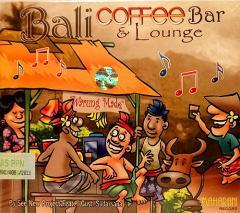 癒しのバリミュージックCD 『Bali coffee Bar&Lounge』 アジアン雑貨 バリ雑貨 スパCD 癒し音楽 バリ音楽 癒しCD ヒーリング