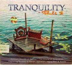 癒しのバリミュージックCD 『TRANQUILITY in Bali』 アジアン雑貨 バリ雑貨 スパCD 癒し音楽 バリ音楽 癒しCD ヒーリング メール便可