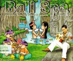 癒しのバリミュージックCD 『Bari Spa part4』 アジアン雑貨 バリ雑貨 スパCD 癒し音楽