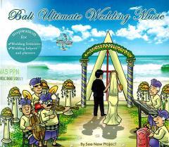 癒しのバリミュージックCD 『Bali Ultimate wedding Music』 アジアン雑貨 バリ雑貨 スパCD 癒し音楽