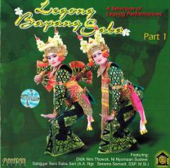 癒しのバリミュージックCD 『Legong Bapang Saba』 アジアン雑貨 バリ雑貨 タイ雑貨 スパエステ用品