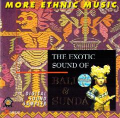 癒しのバリミュージックCD 『The Exotic Sound of Bali & Sunda』 アジアン雑貨 バリ雑貨 スパCD 癒し音楽