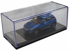 マツダコレクション モデルカー 1/43 CX-3 2015 マツダ専用パッケージ仕様 ダイナミックブルーマイカ 38BM99650H *マツダコレク
