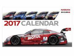 日産コレクション ホビー 2017 NISMO カレンダー 卓上 KWAA1-50G10