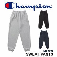 チャンピオン スウェットパンツ 無地 メンズ レディース ユニセックス ブラック グレー ネイビー Champion SWEAT PANTS C3-HS260