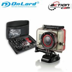 【OnLord(オンロード)】ウェアラブルカメラ 防水  アクションカム「OL-101」【送料無料】