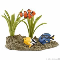 【☆まとめ買いで送料無料☆】Schleich (シュライヒ) サンゴ礁と熱帯魚 42327【全商品・全在庫】【正規品】