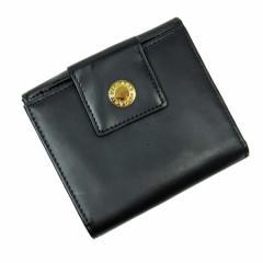 【中古】ブルガリ Wホック二つ折り財布◆ブルガリブルガリ レディース
