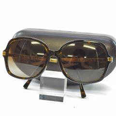 【中古】マイケルコース サングラス  レディース レンズ:ブラウングラデーション フレーム&テンプル:ブラウンxゴールドカラー k8085