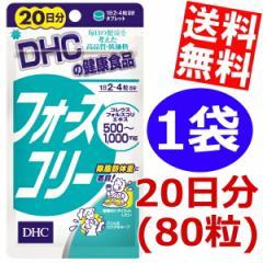 【送料無料】DHCフォースコリー 20日分(80粒)×1袋 [ダイエット食品]