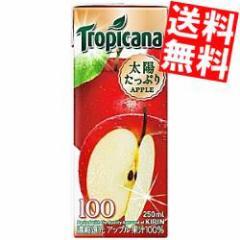 【送料無料】キリン トロピカーナ100% アップル 250ml紙パック 24本入 [果汁100%ジュース]