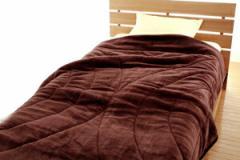 【吸湿発熱綿入り】合わせ毛布 シングルロングサイズ