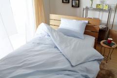 乾きやすいT/C布団カバー3点セット/掛カバー敷カバー枕カバー シングルサイズ