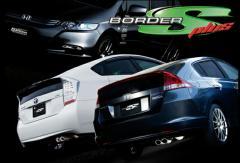 5ZIGEN マフラー BORDER-S+ プリウス ZVW30 車検対応(新基準適合)