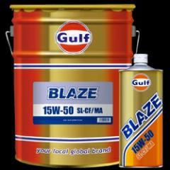 ガルフ エンジンオイル ブレイズ 15W-50 20L X 1本 鉱物油  (Gulf オイル)