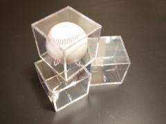 必見!特価!¥528!サインボールがコレクションケース付で!野球用品/記念グッズ/野球ボール/硬球、軟球/