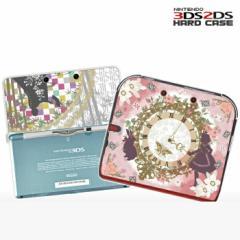 【新童話デザイン】ニンテンドー3DS、2DS クリアカバー 3DSLLケース NEW3DSカバー NINTENDO2DS保護ケース 人気 かわいい おしゃれ 新型