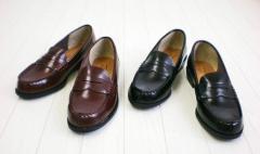 送料無料 ローファー レディース 学生靴の定番 雨の日もお手入れ簡単 通学用ローファー ペニー コイン 通勤 通学 ビジネス フォーマル