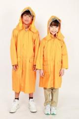 送料無料 レインコート キッズ 雨具 通学向け 子供 防水 ランドコート 子供服 洋品