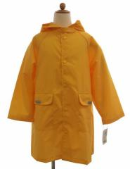 送料無料 レインコート キッズ 雨具 ランドセル対応レインコート イエロー 子供服 洋品