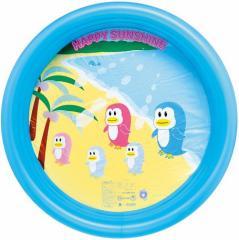 家庭用プール メンズ レディース キッズ おもちゃ ビニールプール ハッピーサンプール ブルー 100CM 水あそび 3000円以上送料無料