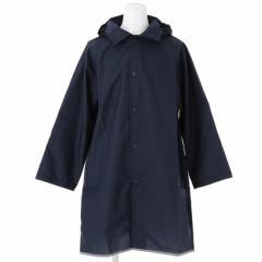 送料無料 レインコート キッズ 雨具 濃紺 ランドセル対応レインコート 子供服 洋品